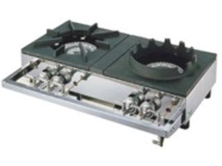 ※こちらはLPガス専用になります。 YAMAOKA/山岡金属工業 ガステーブルコンロ用兼用レンジ/S-2228 LPガス