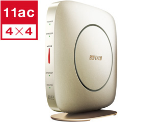 BUFFALO/バッファロー 【納期未定】11ac対応 無線LANルーター 1733+800Mbps WSR-2533DHP2-CG ゴールド