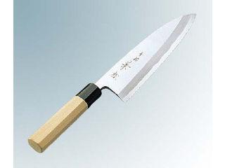 兼松作 青二鋼 出刃庖丁 16.5cm