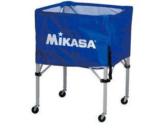 MIKASA/ミカサ 器具 ボールカゴ 箱型・中(フレーム・幕体・キャリーケース3点セット) ブルー BCSPS-BL
