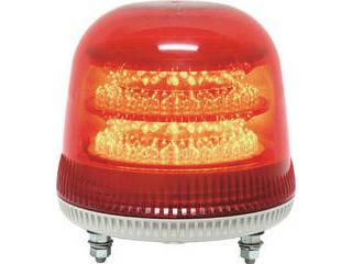 NIKKEI/日惠製作所 ニコモア VL17R型 LED回転灯 170パイ 赤 VL17M-100APR