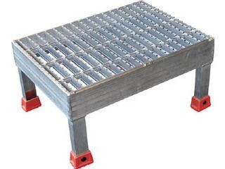 TRUSCO/トラスコ中山 連結式グレーチング仕様アルミステップ(溝加工付) TASG-4320