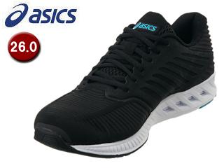 asics/アシックス 【在庫限り】TJA130-9090 fuzeX メンズ ランニングシューズ 【26.0】 (ブラックxブラック)