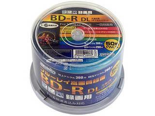 HIDISC 6個セット HIDISC 録画用BD-R DL 50GB 1-6倍速対応 50枚 HDBDRDL260RP50X6