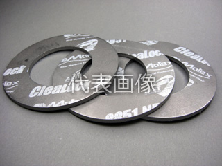 Matex/ジャパンマテックス 【CleaLock】蒸気用膨張黒鉛ガスケット 8851ND-3t-RF-40K-250A(1枚)