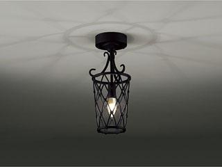 ENDO/遠藤照明 XRG4025X LEDシーリングライト 古味仕上(黒)【電球色】ランプ付