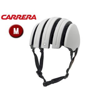 CARRERA/カレラ FOLDABLE PREMIUM シティバイクヘルメット 【Mサイズ(S/M)】 (Matte White)