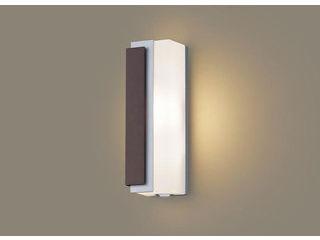Panasonic/パナソニック LGWC81442LE1 LEDポーチライト ダークブラウンメタリック【電球色】【左側遮光】【明るさセンサ付】