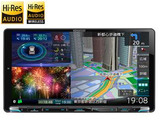 KENWOOD/ケンウッド MDV-M907HDL Sai-Soku/彩速ナビゲーション 9V型モデル DVD/USB/SD AVナビゲーション 地図更新1年間無料/HDパネル搭載/ハイレゾ音源対応