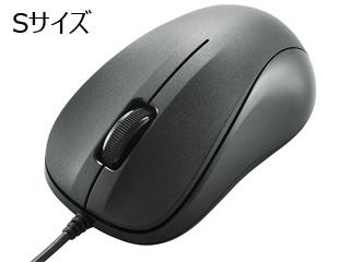 リーズナブルながら マウスの基本性能をしっかり持ったスタンダードな光学式マウス Sサイズ セール商品 ELECOM エレコム USB光学式マウス 3ボタン ブラック RoHS指令準拠 セール価格 RS 納品書 法人様の大量導入歓迎 M-K5URBK 請求書 領収書等発行できます