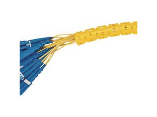 Panduit/パンドウイットコーポレーション 電線保護材 パンラップ 黄 PW100F-C4