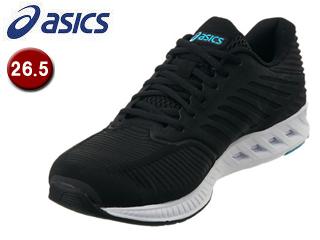 asics/アシックス 【在庫限り】TJA130-9090 fuzeX メンズ ランニングシューズ 【26.5】 (ブラックxブラック)