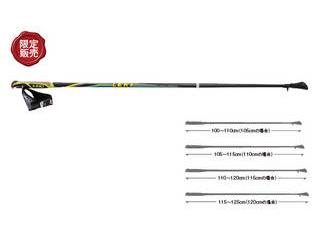 キャラバン/CARAVAN 1300368-190 【限定販売】LEKI ノルディックウオーキングポール SPペーサーバリオシャーク 【105】