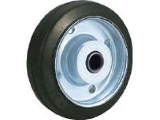TRUSCO トラスコ中山 TYSシリーズ 車輪のみ TYSW-125 ゴム 公式ストア ふるさと割 125Φ