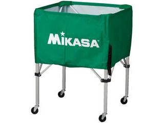 MIKASA/ミカサ 器具 ボールカゴ 箱型・中(フレーム・幕体・キャリーケース3点セット) グリーン BCSPS-G