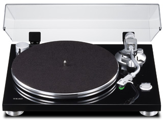 TEAC/ティアック TN-3B-B(ピアノブラック) フォノアンプ内蔵アナログターンテーブル