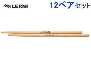 LERNI/レルニ 【12ペアセット!】 H-145MM 湊 雅史 【シグネチャーシリーズ】 LERNIドラムスティック
