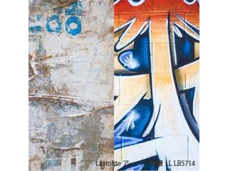 Lastolite/ラストライト 【納期にお時間がかかります】LL LB5714 アーバン背景 1.5 x 2.1m ユーズド紙/落書き壁