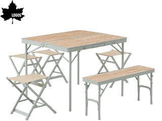 LOGOS/ロゴス ★73183014 LOGOS Life ベンチテーブルセット6 PKSS06