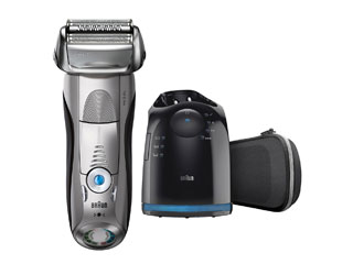 【nightsale】 Braun/ブラウン 7898CC-P シリーズ7 メンズ電気シェーバー 洗浄器付モデル【お風呂剃り対応】【シェーバーケース付】