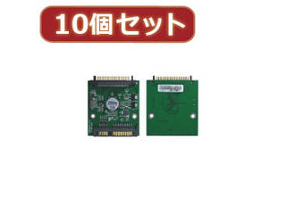 変換名人 変換名人 【10個セット】 東芝1.8 HDD→SATA HDD 18HD-SATAX10