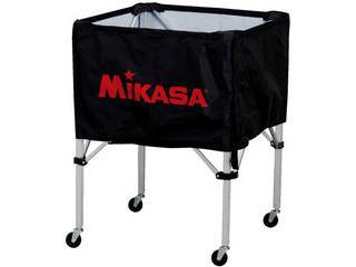 MIKASA/ミカサ 器具 ボールカゴ 箱型・中(フレーム・幕体・キャリーケース3点セット) ブラック BCSPS-BK
