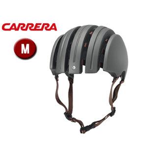 【nightsale】 CARRERA/カレラ FOLDABLE PREMIUM シティバイクヘルメット 【Mサイズ(S/M)】 (Matte Dark Grey)