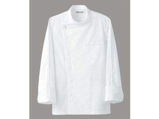 SEVEN UNIFORM/セブンユニフォーム ドレスコックコート(男女兼用)BA1044-0 ホワイト M