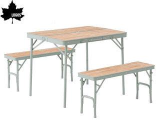 LOGOS/ロゴス ★★★73183013 LOGOS Life ベンチテーブルセット4 PKSS06
