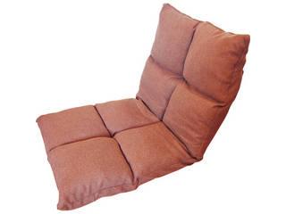 高反発フリーリクライニング座椅子 ブラウン  KPGCR-168BR