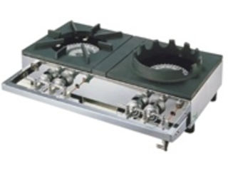 ※こちらは13A(都市ガス)専用になります。 YAMAOKA/山岡金属工業 ガステーブルコンロ用兼用レンジ/S-2228 12・13A(都市ガス)