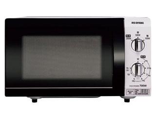 アイリスオーヤマ 電子レンジ 18L フラットテーブル ホワイト 【60Hz】IMB-F184-6