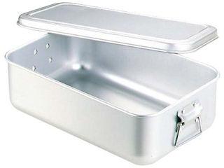 nakao/中尾アルミ製作所 アルマイト 蒸気用 炊飯鍋 蓋付 7.2L 4升用