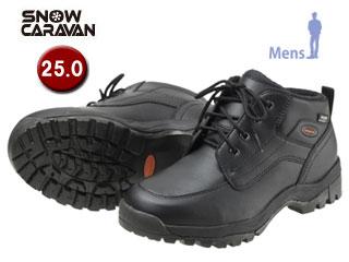 SNOW CARAVAN/スノーキャラバン 0023122 ウィンターシューズ SHC-21 (ブラック) 【25.0】【男性用】