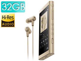 SONY/ソニー NW-A56HN-N (ペールゴールド) 32GB ウォークマンAシリーズ(メモリータイプ) ヘッドホン同梱