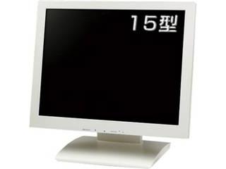 クイックサンプロダクツ 保護フィルター搭載15インチ液晶ディスプレイ ホワイト QT-1504P(AVG)