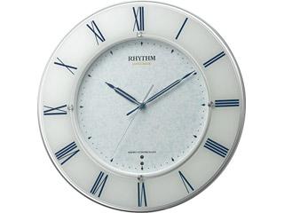 RHYTHM/リズム時計 4MY847SR04 【スリーウェイブM847】 高感度電波時計 スリーウェイブ/サイレントステップ秒針