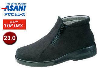 ASAHI/アサヒシューズ AF39129 TDY39-12 トップドライ ブーツ レディース 【23.0】 (ブラックPB)