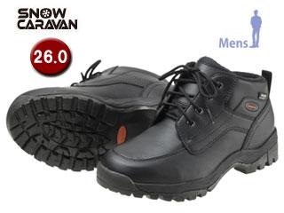 SNOW CARAVAN/スノーキャラバン 0023122 ウィンターシューズ SHC-21 (ブラック) 【26.0】【男性用】