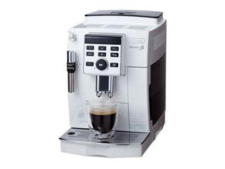 DeLonghi/デロンギ ECAM23120/WN コンパクト全自動コーヒーマシン マグニフィカS (ホワイト) 【カフェ・ジャポーネ機能搭載】