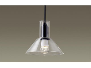 Panasonic/パナソニック LGB15076K 吊下型 LED(電球色)ダイニング用ペンダント ガラスセード透明【直付タイプ】
