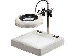 【組立・輸送等の都合で納期に1週間以上かかります】 OTSUKA/オーツカ光学 【代引不可】LEDライトボックス式照明拡大鏡 ENVL-CL型 2倍 ENVL-CLX2