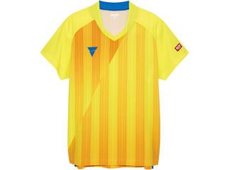 VICTAS(ヴィクタス) VICTAS V‐NGS052 ユニセックス ゲームシャツ/L/イエロー