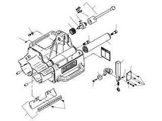 Ridge Tool/リッジツール RIDGID/リジッド アーバー シャフト F/122J 94887