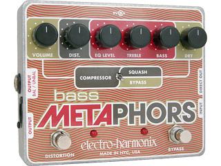 electro harmonix/エレクトロハーモニクス BASS METAPHORS プリアンプDI ベース用 エフェクター 【国内正規品】