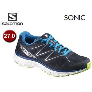 SALOMON/サロモン 【在庫限り】L39354900 FOOTWEAR SONIC 【27.0】 (NAVY BLAZER/WHITE/IMPERIAL BLUE)