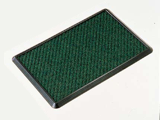 YAMAZAKI/山崎産業 【代引不可】消毒マットセット/600×900 緑