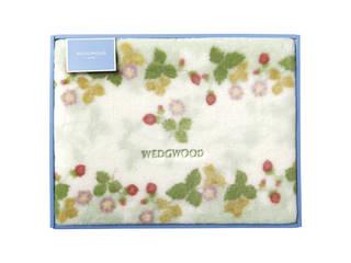 ウェッジウッド アクリルニューマイヤー毛布(毛羽部分) グリーン FQ88100051