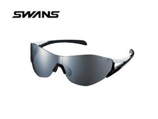 さらに広く視る 護る メーカー公式 SOUプロスペックモデル SOU PRO レギュラーサイズ マーケティング SWANS フレーム:ホワイト×ブラック SOUPRO-3101 スワンズ W BK レンズ:シルバーミラー×スモーク