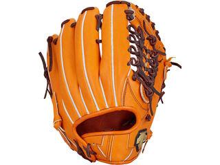 デサント(DESCENTE) 硬式グラブ 外野手用/カラー:オレンジ
